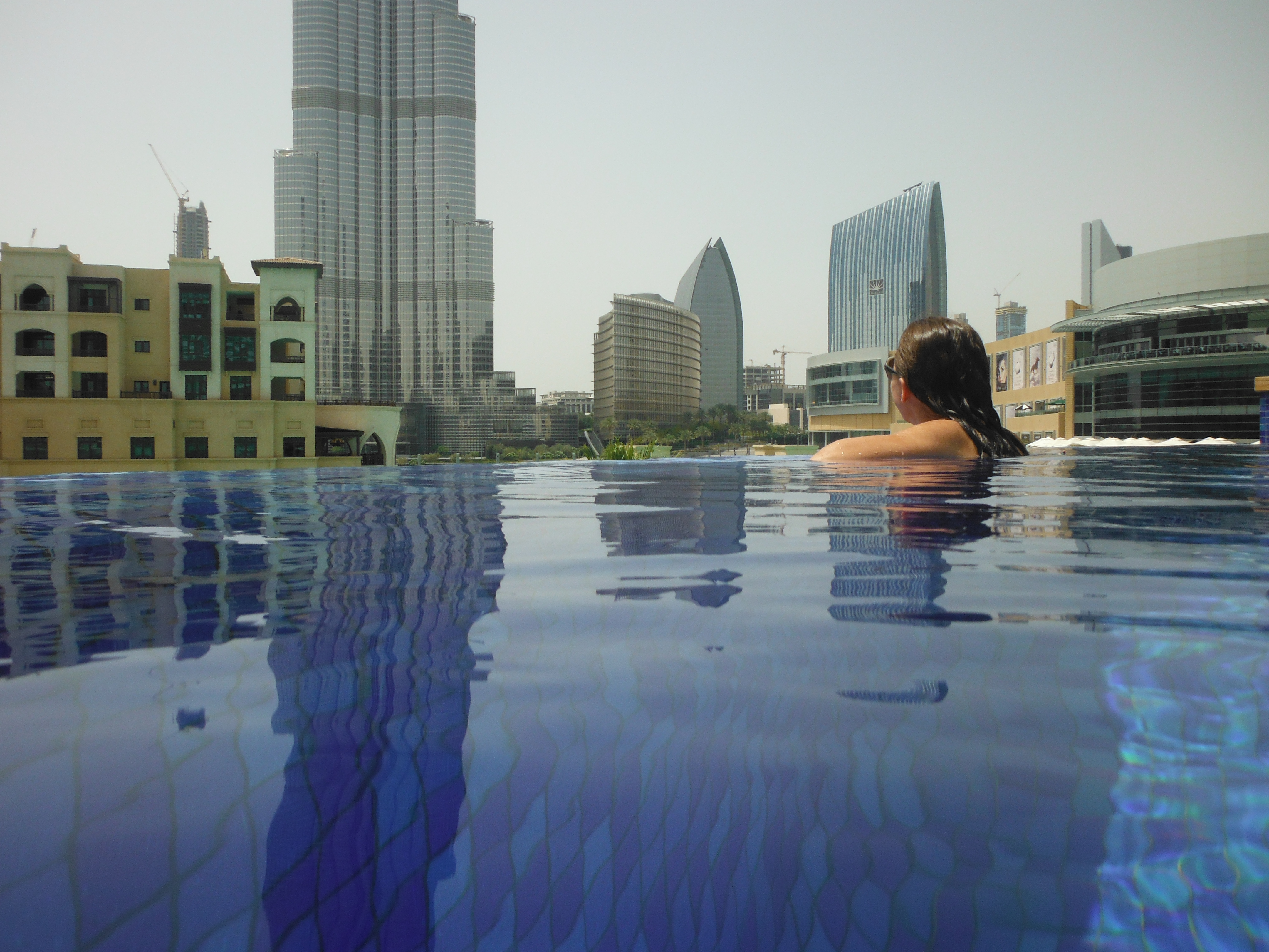 The address downtown dubai pool the scoop dxb for Garden pool dubai