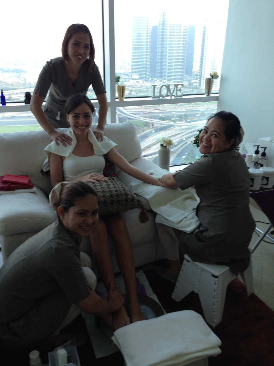 The Nail Spa In Office Service