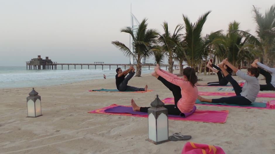 Sunset Yoga 1