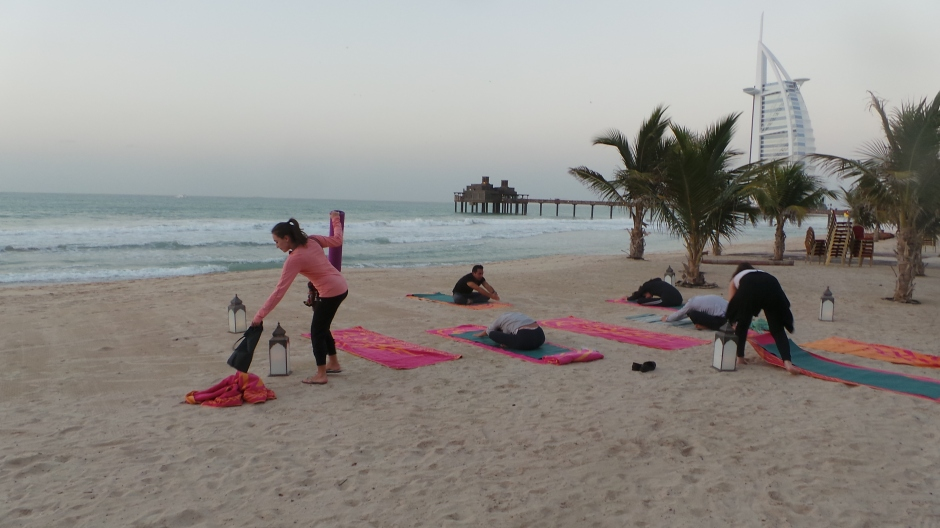 Sunset Yoga 11