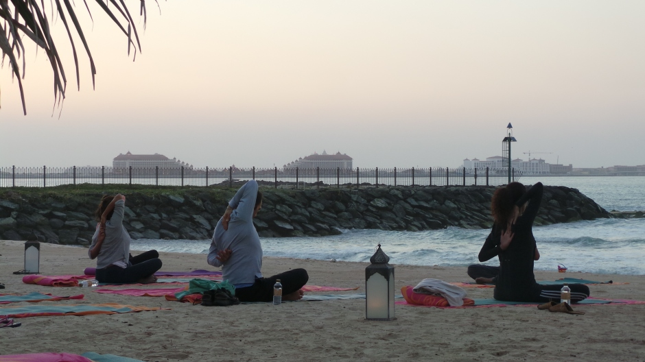 Sunset Yoga 4