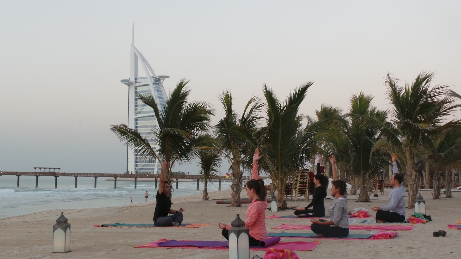 Sunset Yoga 8