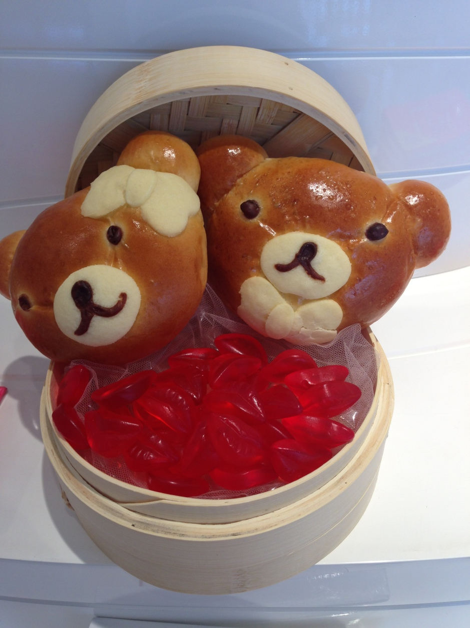 Kawaii Nutella Love Bears