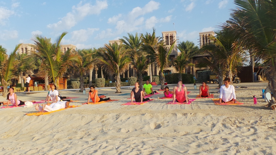 Sunset Yoga at Talise Spa