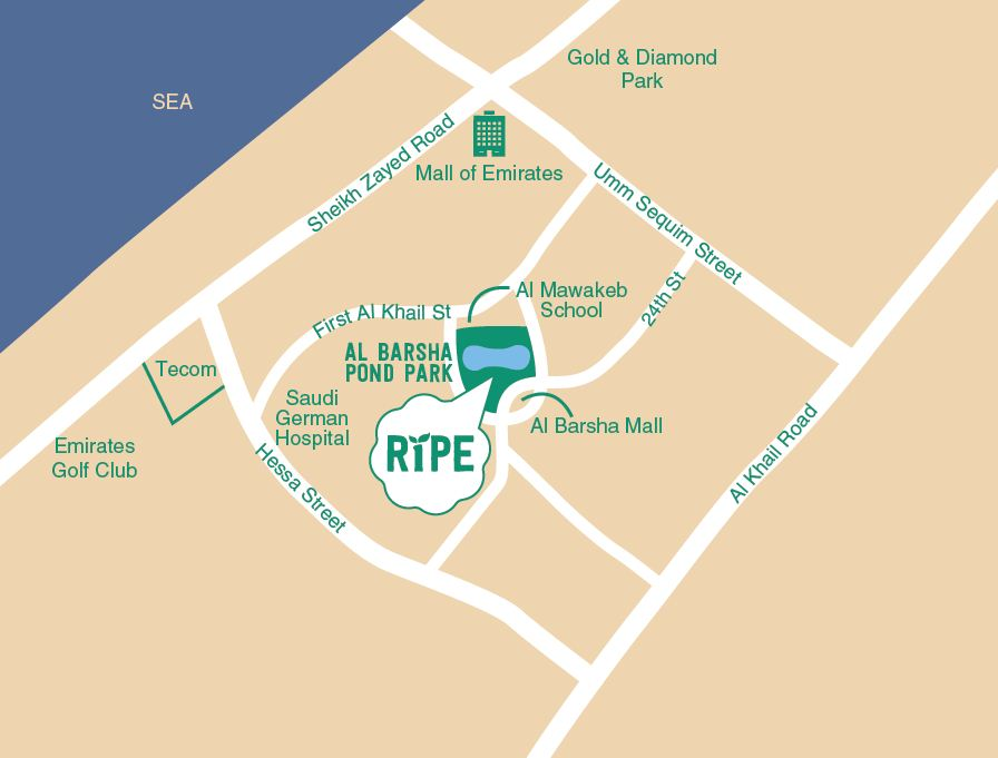 Ripe Night Market Map